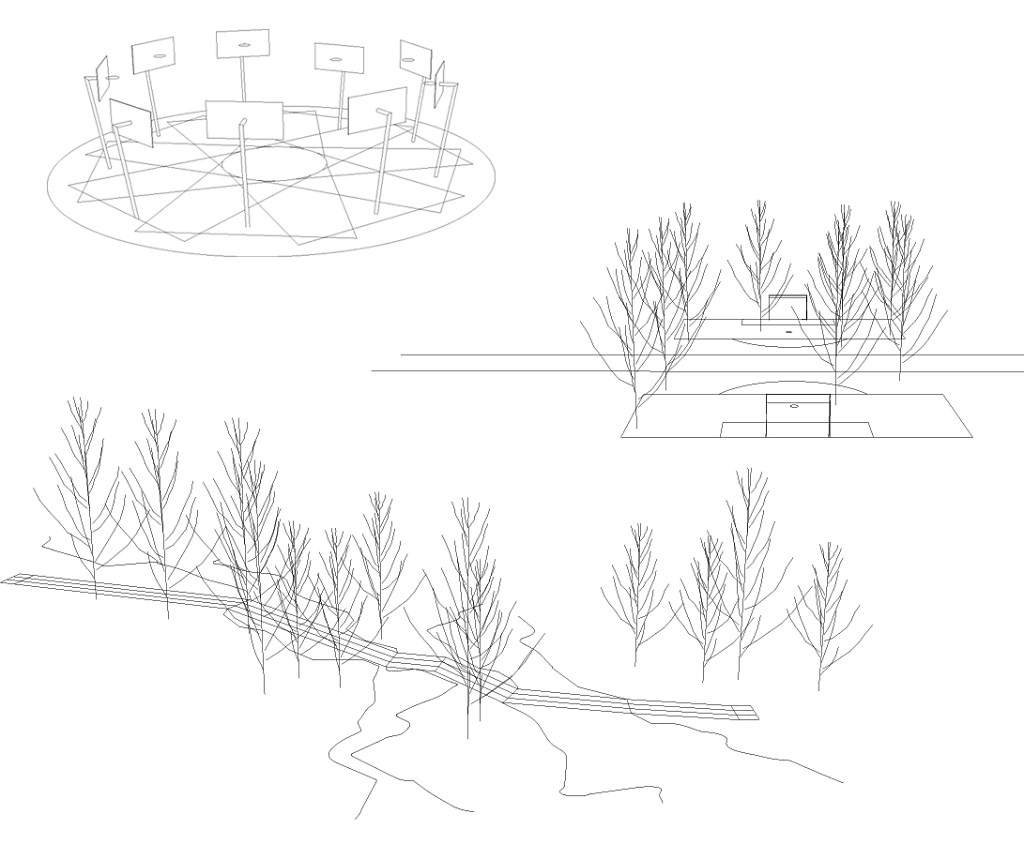 Sport/Fun Landscaping: basket wheel, tree soccer, to and fro race track ...
