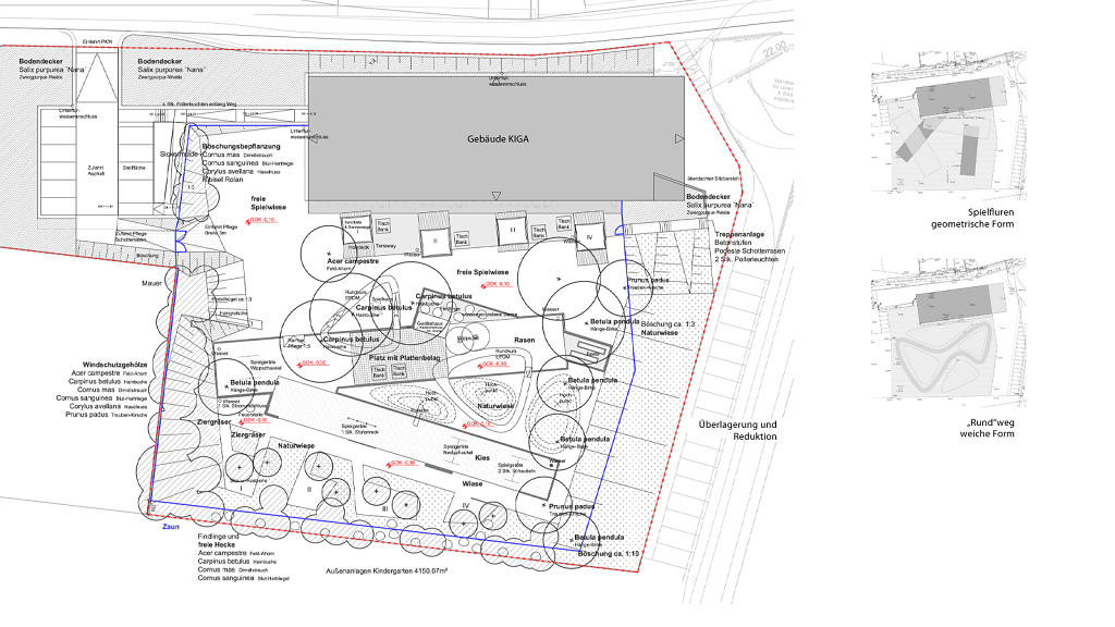 EG Plan Landschaftsarchitektur